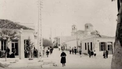 Λιόπεσι-Παιανία, Πλατεία Δημοσθένους, δεκαετία του '30