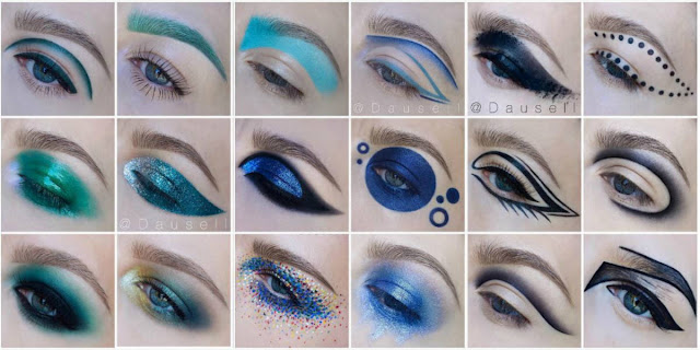 makeup creative unusual