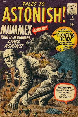 Tales to Astonish, Mummex, king of mummies