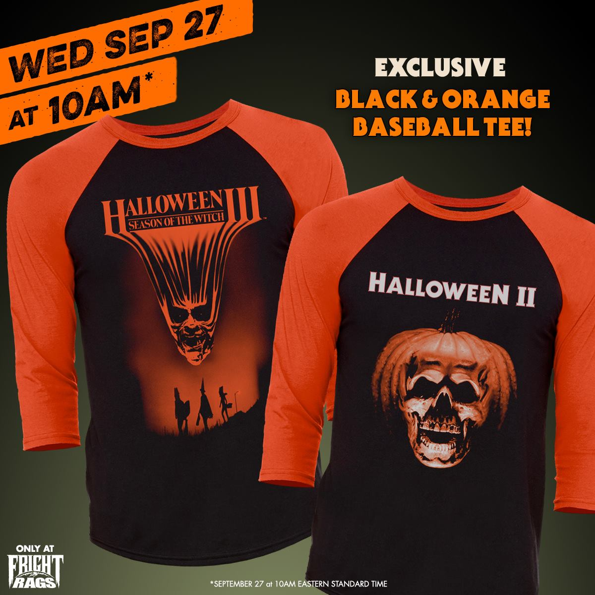 officially licensed halloween ii and halloween iii collections include baseball tees t shirts socks hoodie and enamel pins