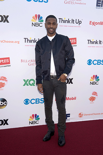 Big Sean at the party Think It Up