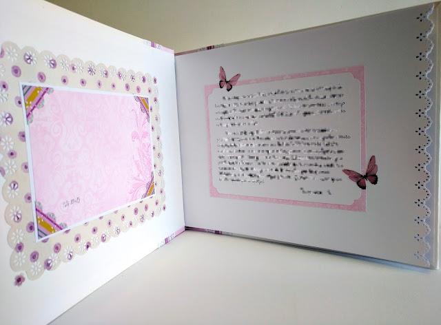 Ideas de libros de firmas de comunión para niña