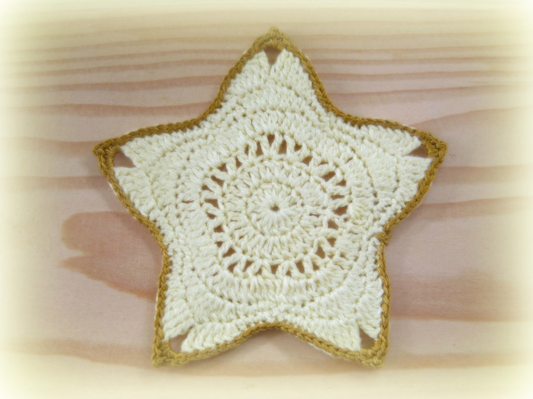 Crochet And Other Stuff: Christmas Star Ornament