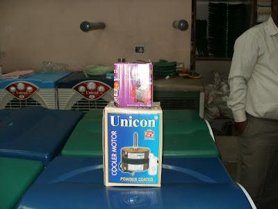 unicorn cooler Motor