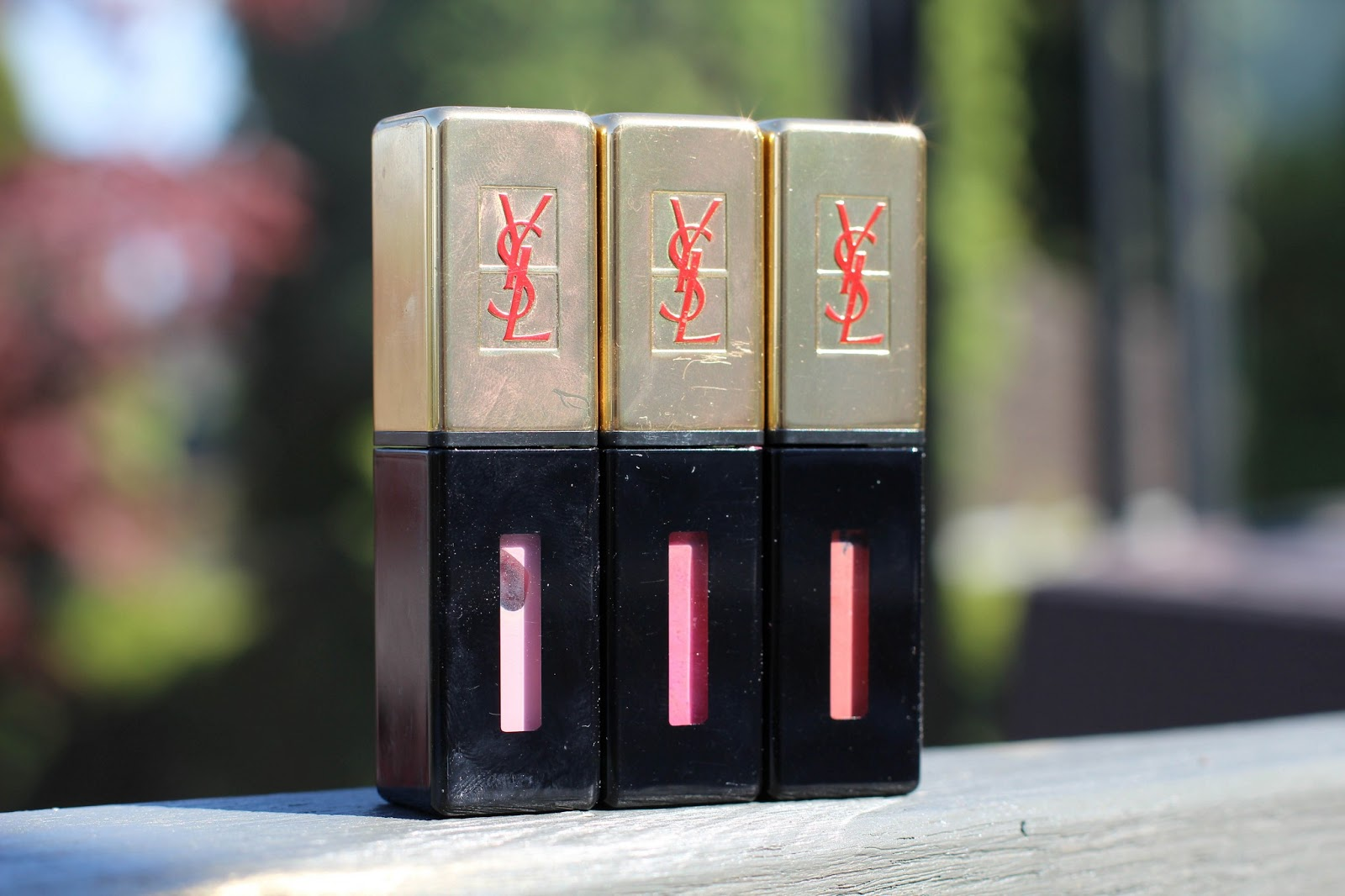 Yves Saint Laurent Glossy Stain Vs L Oreal Colour Caress
