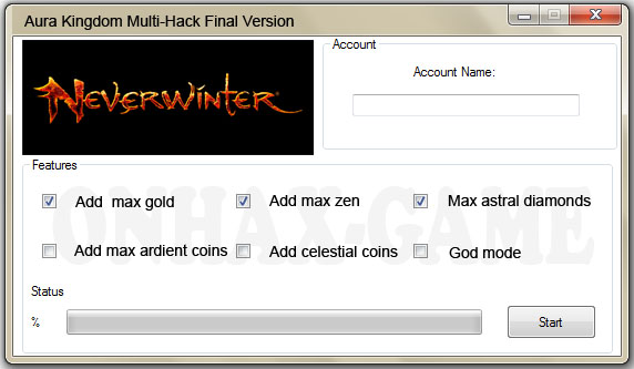 Download Neverwinter Hack Software Original Final Version