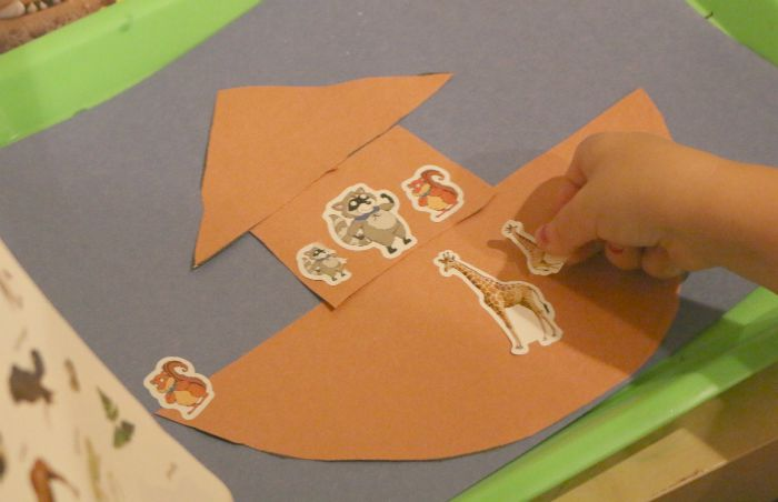 Noah S Ark Paper Craft School Time Snippets