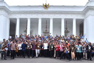 Presiden Jokowi Ajak Nelayan Gunakan Alat Tangkap Ramah Lingkungan