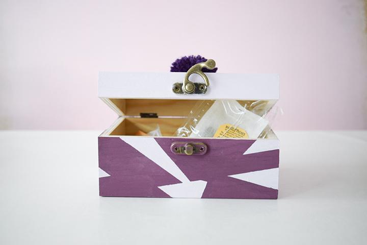 DIY customisation d'une boîte à thé