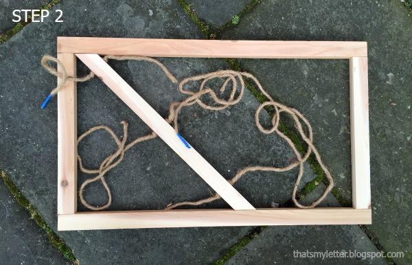 how to build a wooden door mat