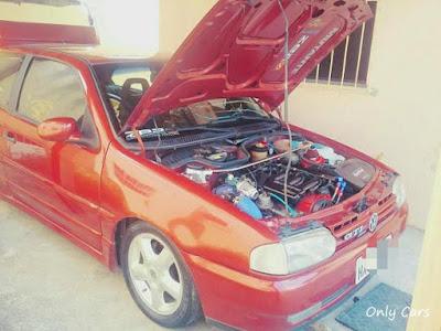 Gol GTI Rebaixado Turbo