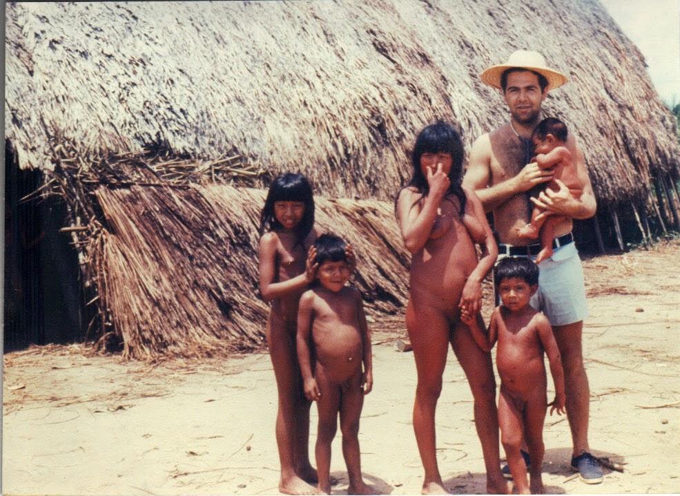 Amazon xingu tribu chicas coño-8410