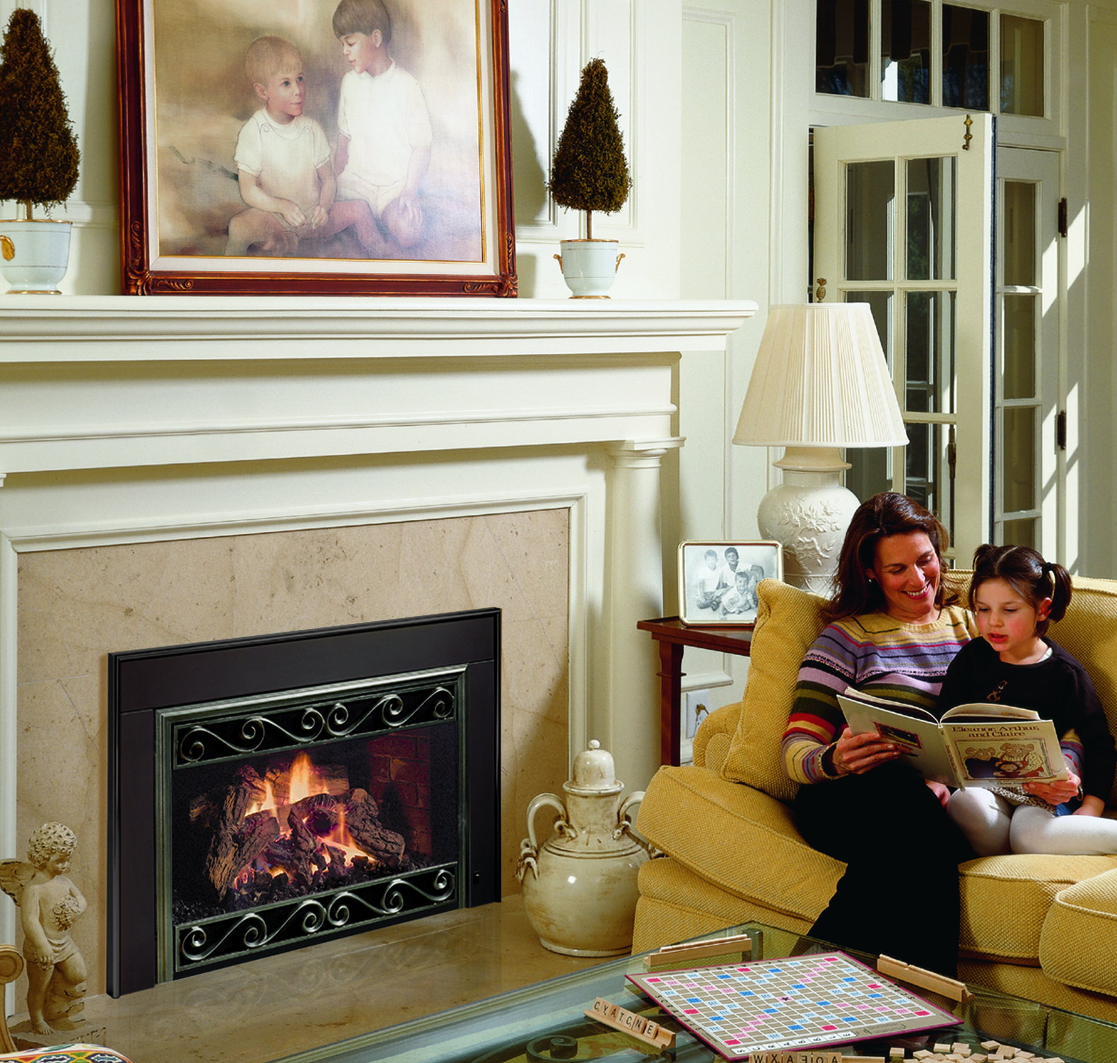 safety first mendota fireplace look book