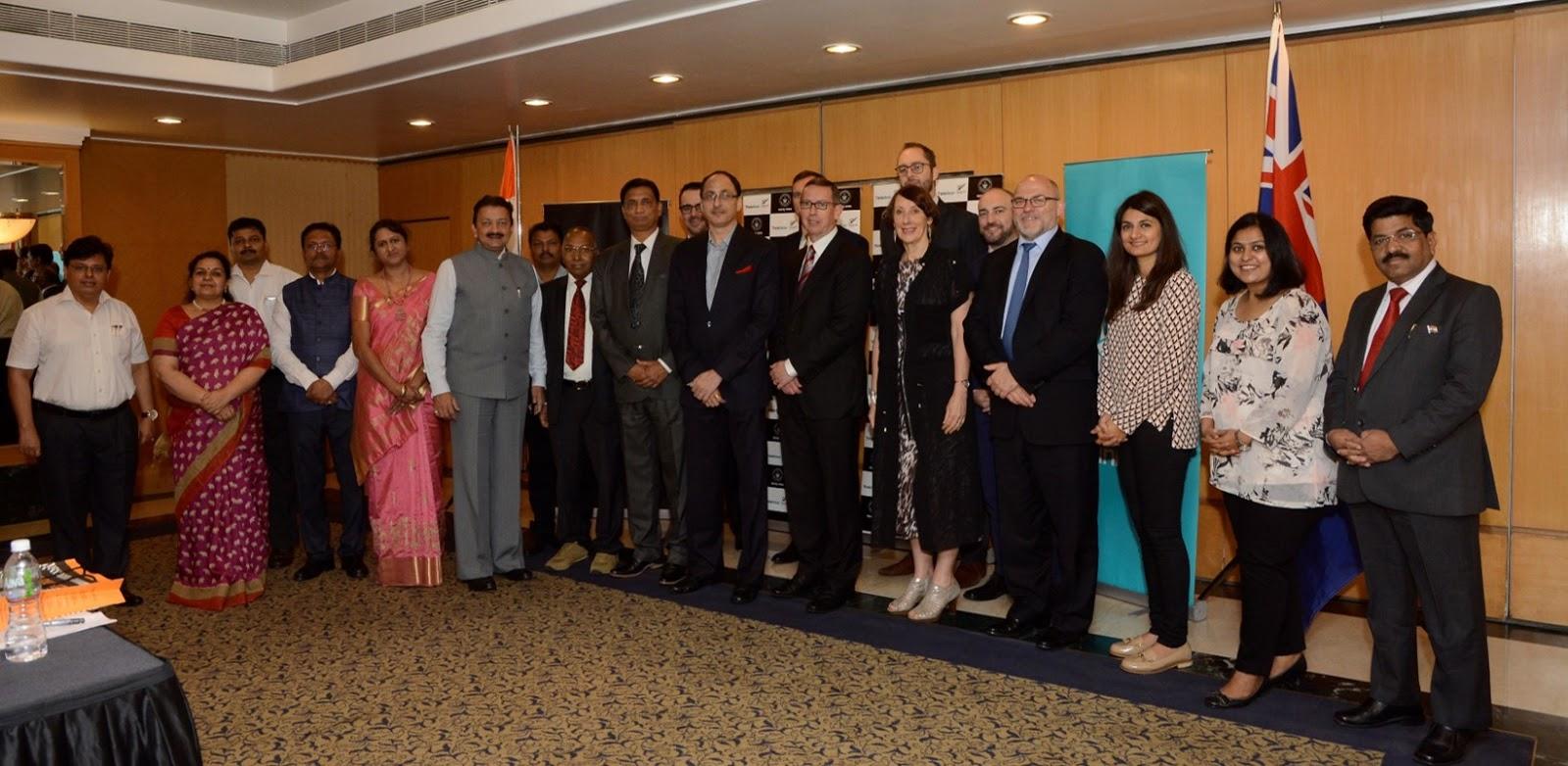 Maharashtra Goverment and New Zealand at the India Strategic Education P...