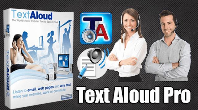 برنامج TextAloud عربى