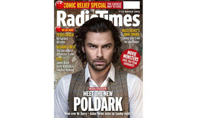 Radio Times, Aidan Turner, Poldark, Sarah Dunn