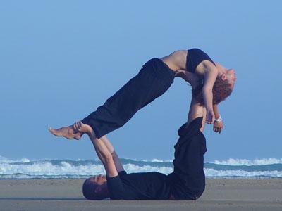 yoga praha partnerská jóga
