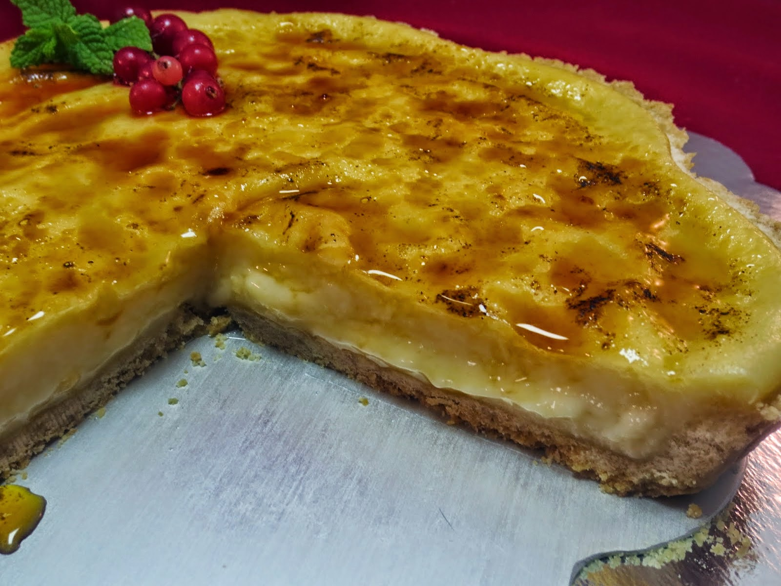 Tarta de crema de limón Ana Sevilla cocina tradicional