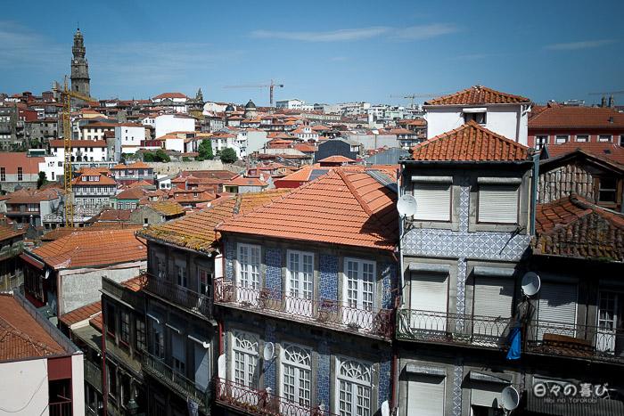 Vue sur les toits, Porto