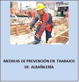 Seguridad en trabajos de albañilería 1