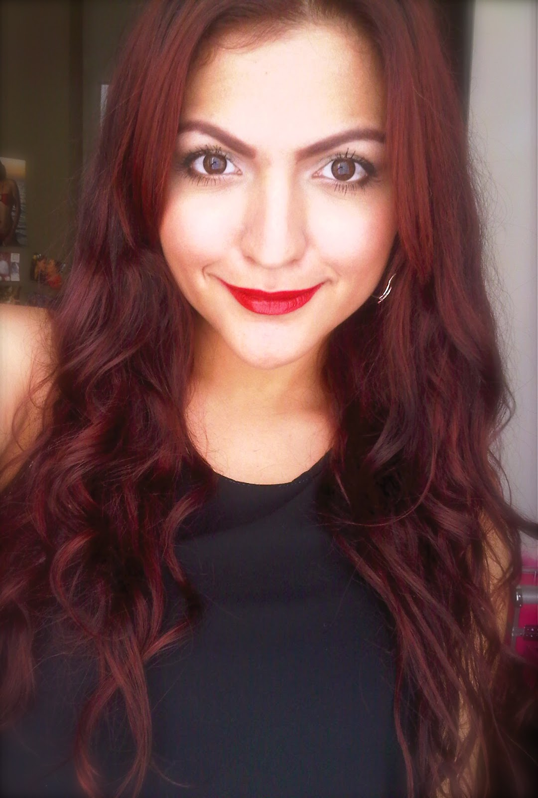 Medium Reddish Brown Hair Color Best Medium Hairstyle Of