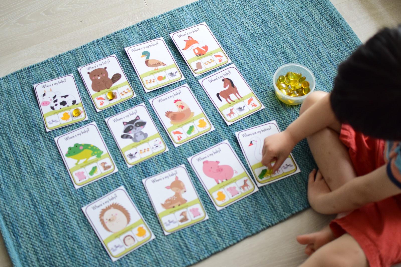 Spring Preschool And Kindergarten Learning Materials