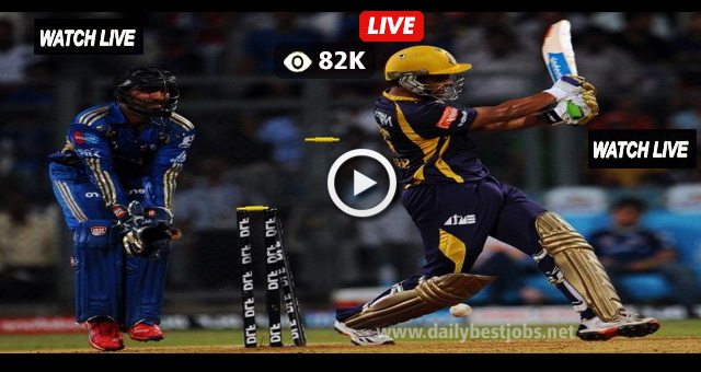 IPL 2018 KKR vs MI Live Streaming Cricket Score Online