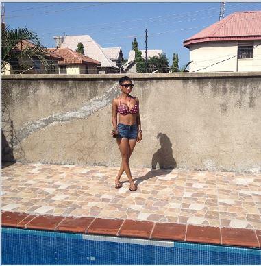 Karen Igho shares more pics of her hot bikini body