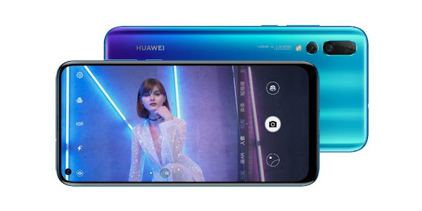 Huawei Nova 4 announced with in-display camera
