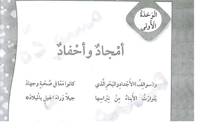 حل كتاب اللغة العربية للصف الثالث كاملا للدمشقي