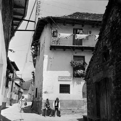 Jorge Puyó en Ansó en 1967