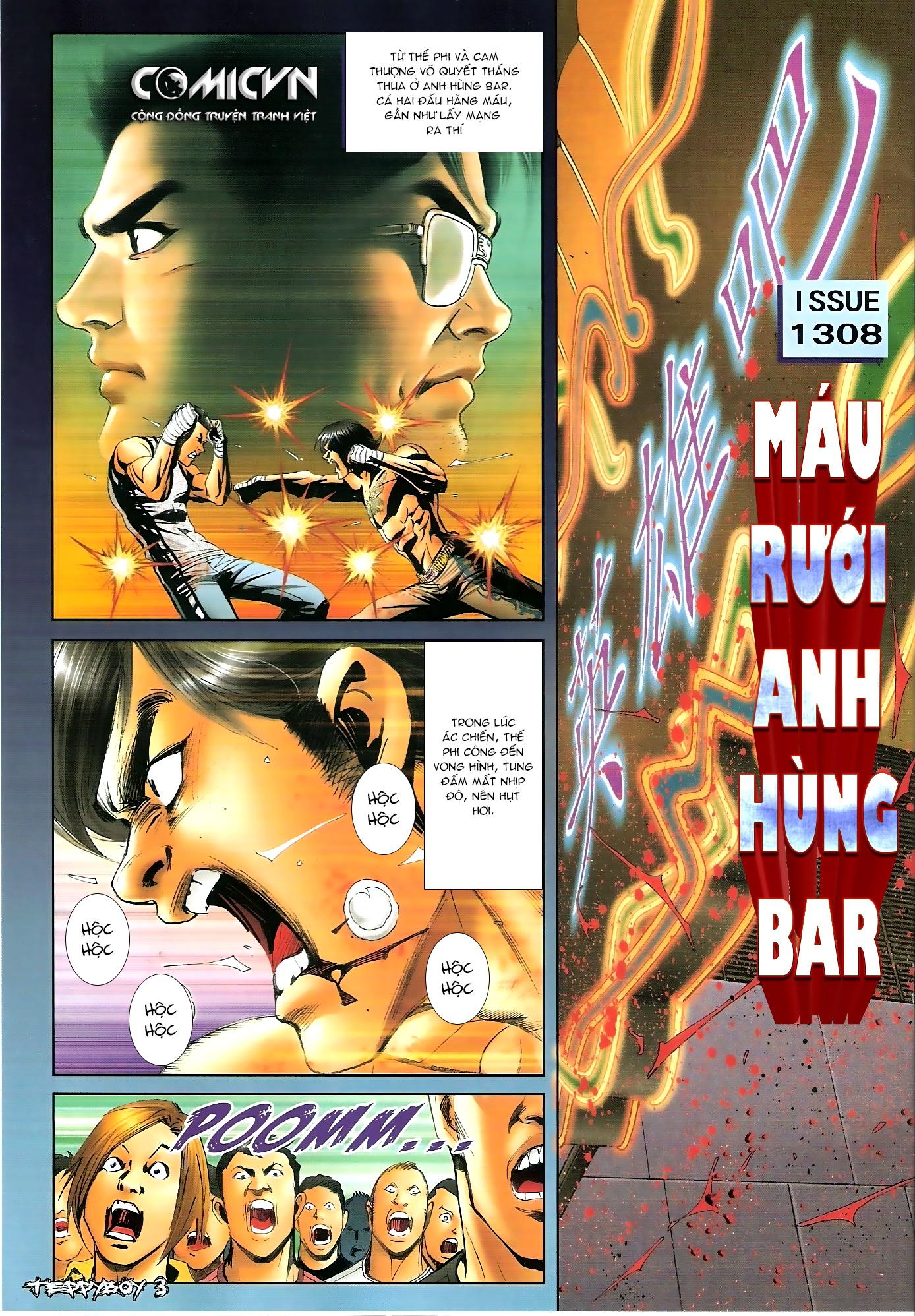 Người Trong Giang Hồ - Chapter 1308: Máu rưới Anh Hùng Bar - Pic 2