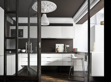 black and white apartment 5