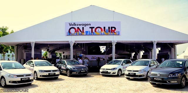 Volkwagen On Tour @ Queensbay Mall Penang