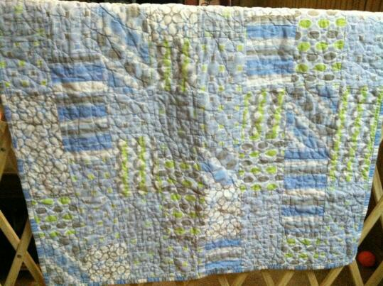 Quick and easy baby quilt