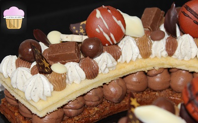 La Gourmandise Selon Sandrine Ma Recette Dun Number Cake Ultra