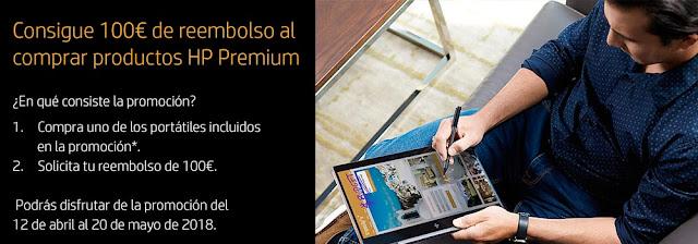 Mejores portátiles promoción Reembolso Premium de HP