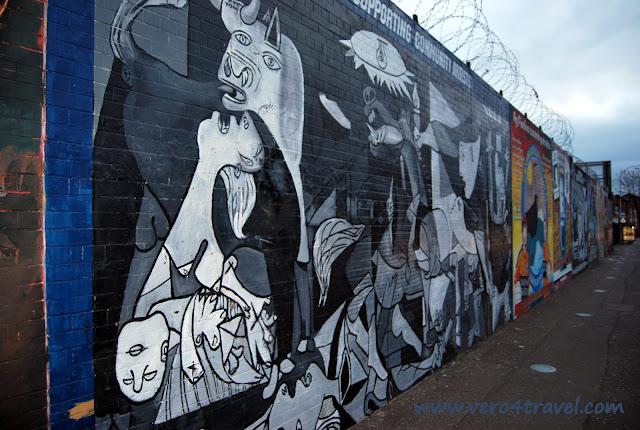 Guernica murales belfast