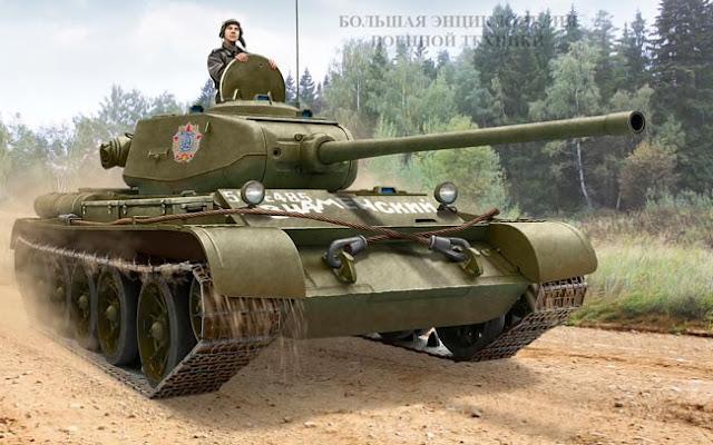 Средний танк Т-44 (объект 136)