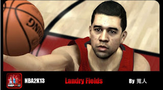 NBA 2K13 Landry Fields Cyber Face Mods