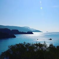 panorama depuis paleokastritsa sur l'ile de Corfou