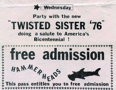 Twisted Sister at Hammerheads
