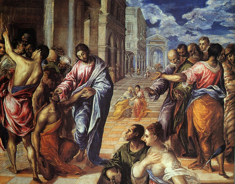 Cristo Cura um Cego - El Greco e suas principais pinturas ~ Maneirismo