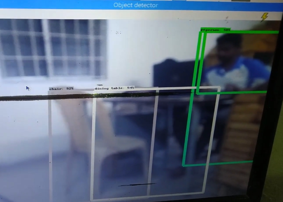 Tensorflow based Object Detection Using Raspberry pi - Eye