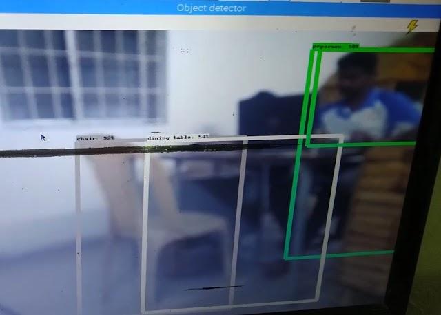 Tensorflow based Object Detection Using Raspberry pi - Eye of Robots