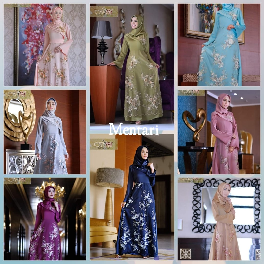 Andieen Shopping Mentari By Fitria Style Baju Gamis