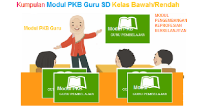 Kumpulan Modul SIM PKB Guru SD Kelas Bawah Tahun 2017