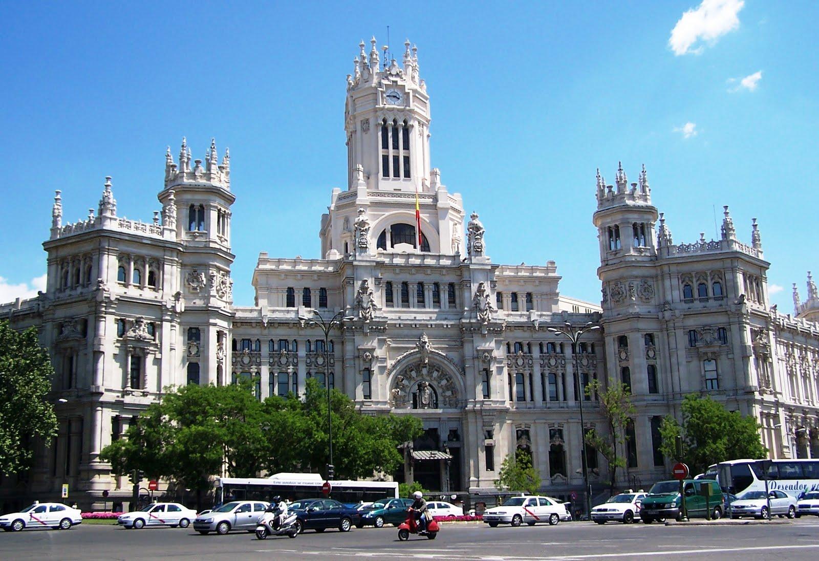 Madrid De Pingo Comer En El Ayuntamiento