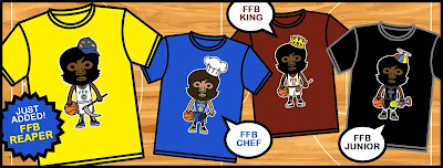 NBA Finals 2018 FFB T-Shirt Collection by Fur Face Boy