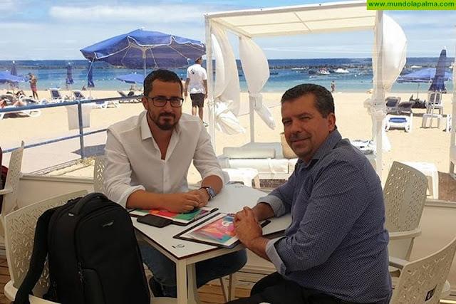Juan José Cabrera Guelmes toma primer contacto con Puertos y Costas